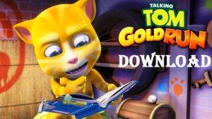 Download Talking Tom Gold Run Mod Apk Unlimited Money