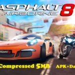 Asphalt 8 Airborne Apk Obb Data 5MB Highly Compressed Download
