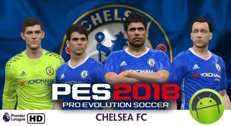 PES Mobile 2018 Mod Chelsea Apk Data Obb Download