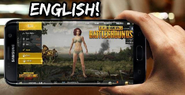 PUBG Mobile Apk Data English Version Download