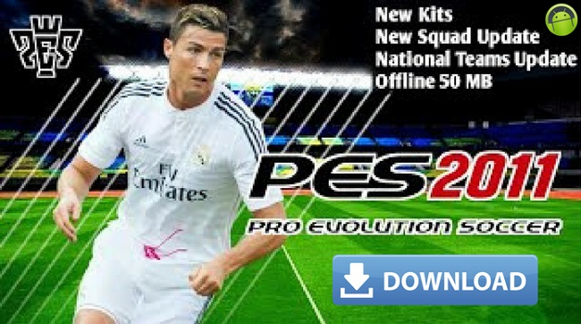 PES 2011 Mod 2018 Android Offline HD Game Download