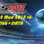 PES 2012 Mod 2018 Apk Data Download