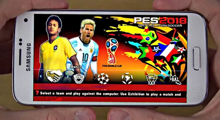 PES 2018 Mod World Cup Russia Offline Edition Download
