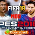 FIFA 18 Mod PES 2018 Offline Update Apk Data Download