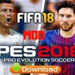 FIFA 18 Mod PES 2018 Offline Update Apk Data Download