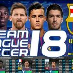 Dream League Soccer 2018 MOD APK FC Barcelona Data Download