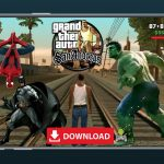 GTA SA Mod Super Hero Android Download