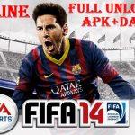 FIFA 14 Mod APK Offline Full Unlocked Download