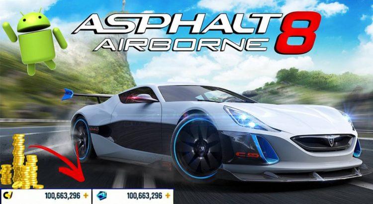 Asphalt 8 Airborne APK MOD Unlimited Gold Car Free Shopping Anti-Ban Download
