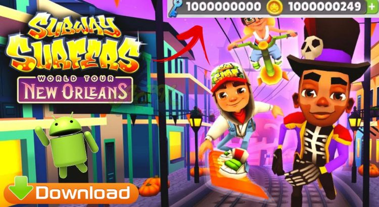 Subway Surfers Apk Mod Unlimited Coins and Key Download