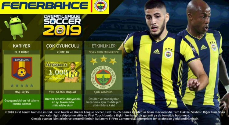 DLS 2019 Fenerbahce Mod Android Download