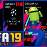 FIFA 19 Offline APK Fix TournamentManagerMode Real Face Download