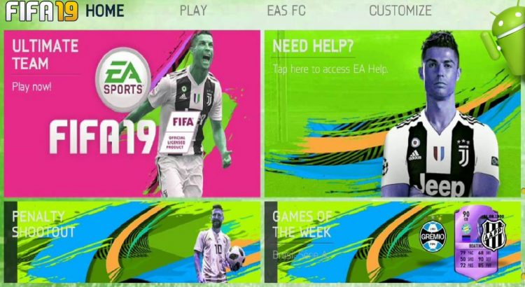 FIFA 19 Offline APK Mod Green Edition Download