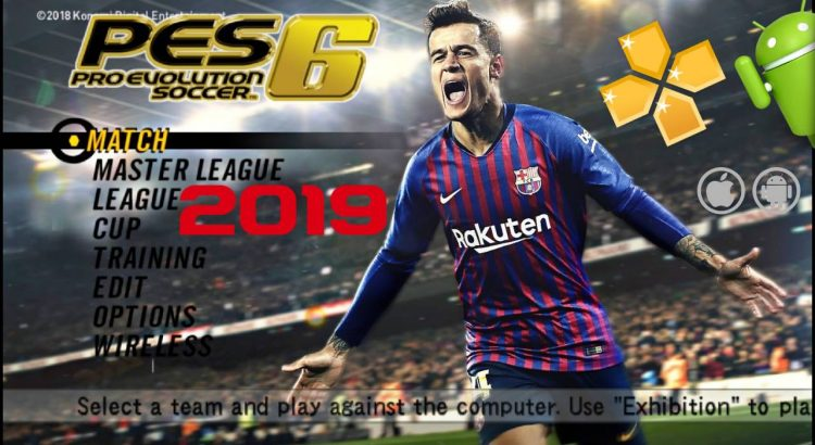 PES6 Mod PES 2019 Offline Android Download