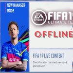 Latest FIFA 19 Offline Mobile Android Mod APK Download