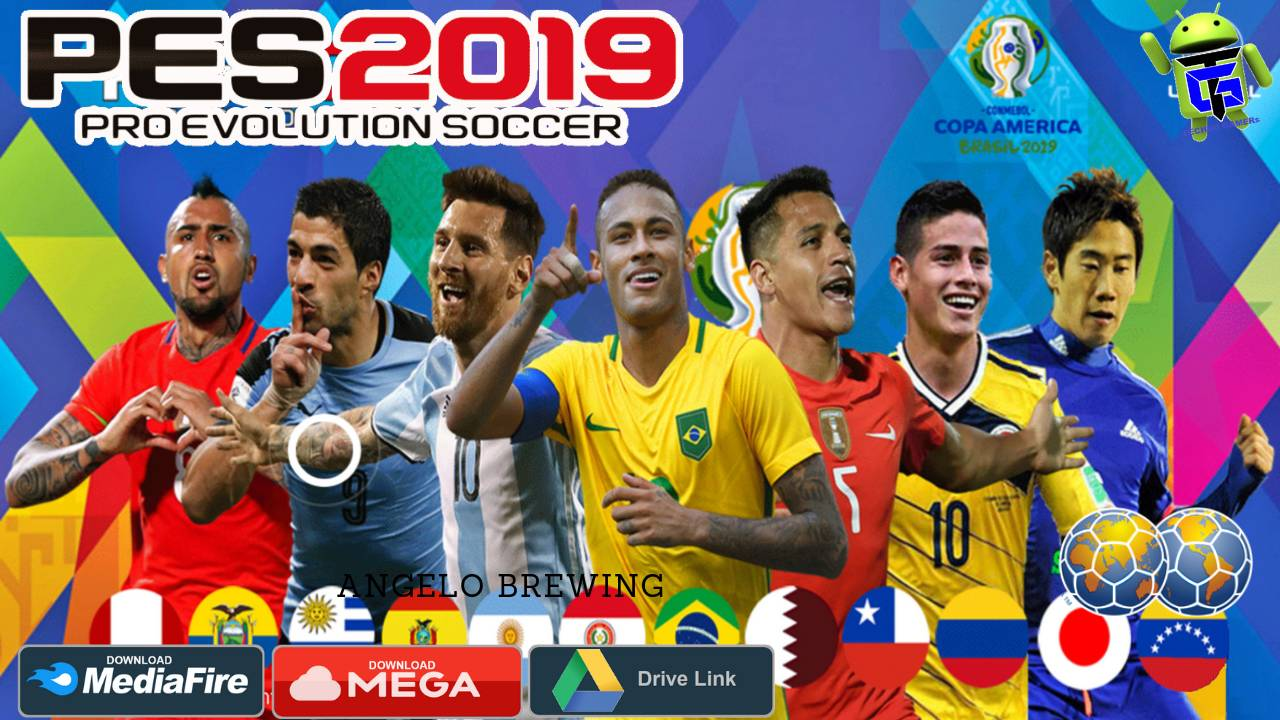 PES 2019 Android Patch COPA AMERICA Download