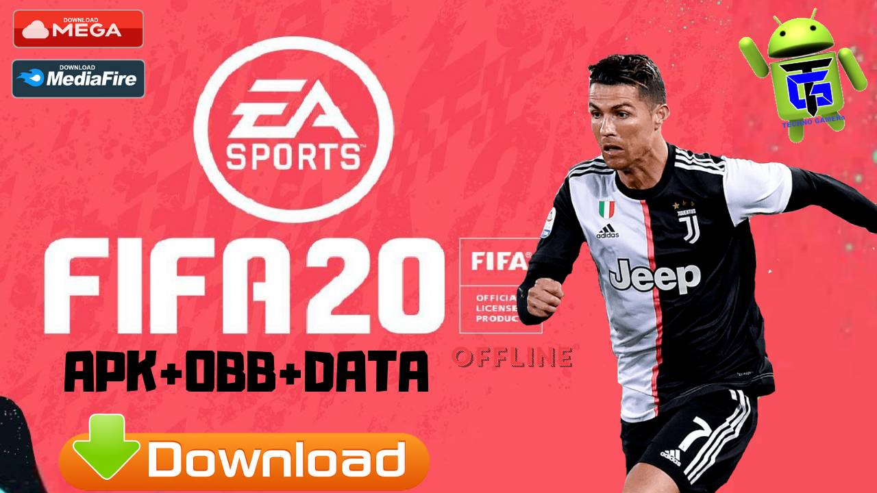 FIFA 20 Android UCL APK Mod New Kits 2020 Download