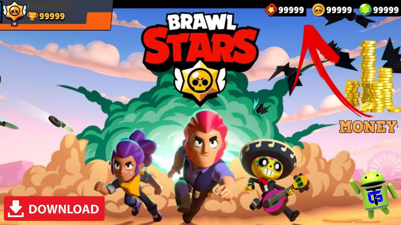 Brawl Stars APK Mod Unlimited Money Crystals 2019 Download