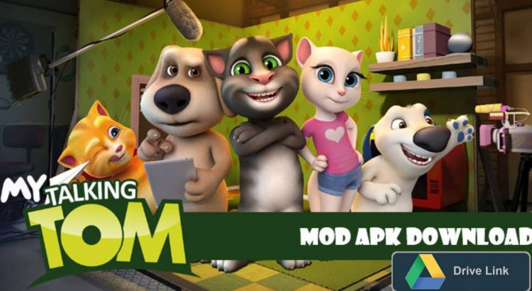 My Talking Tom MOD APK Unlocked Download