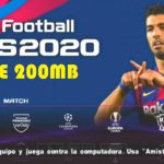 PES 2020 Lite Android Offline 200MB V4 Latest Transfers Download