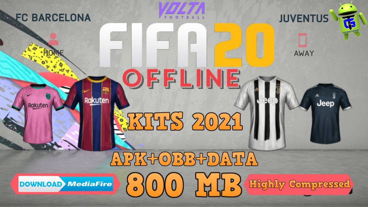 FIFA 20 Offline Android Update New Kits 2021 Download