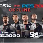 FTS 20 Mod APK PES 2020 Offline Update Juventus Transfers Download