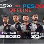 FTS 20 Mod APK PES 2020 Offline Update Juventus Transfers Download