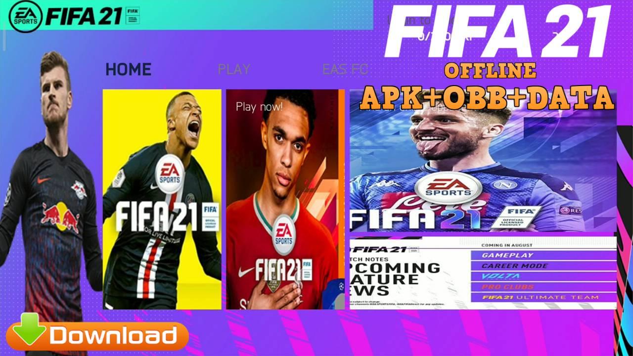 Download FIFA 21 Mod APK OBB Data