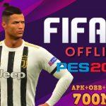 Download FIFA Mod PES 2020 Offline APK OBB Data Game