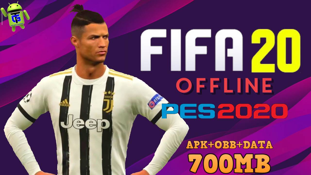 Download FIFA Mod PES 2020 Offline APK OBB Data Game