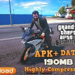 Download GTA San Andreas APK+Data 190MB Highly Compressed
