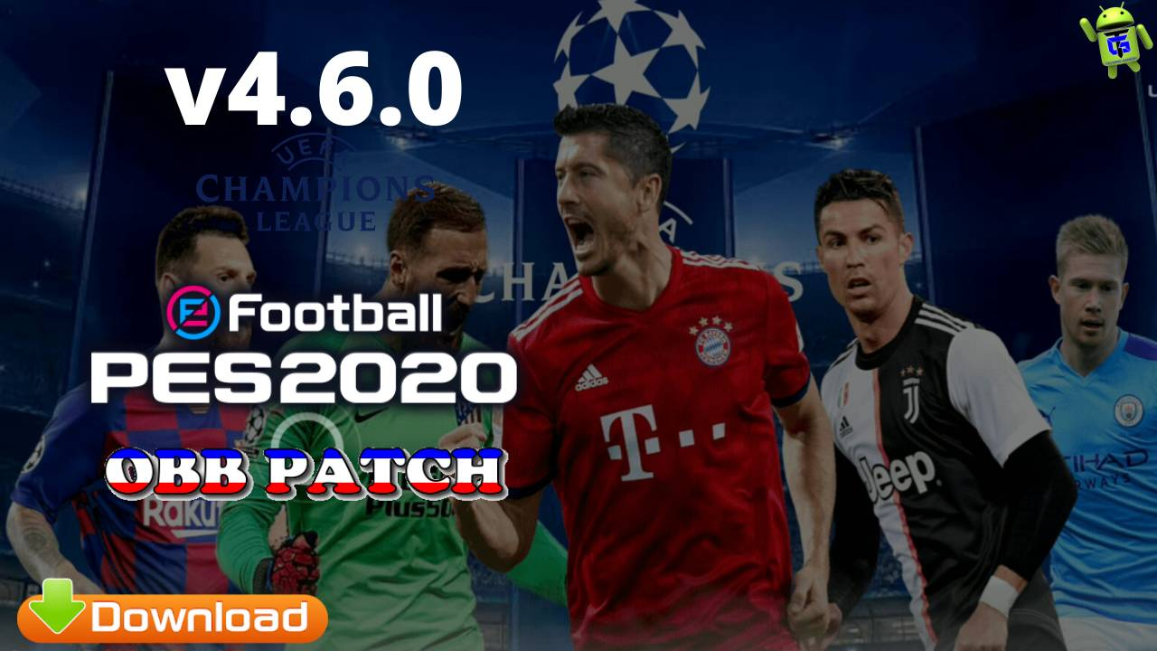 Download PES 2020 UCL OBB Patch v4.6.0 Android