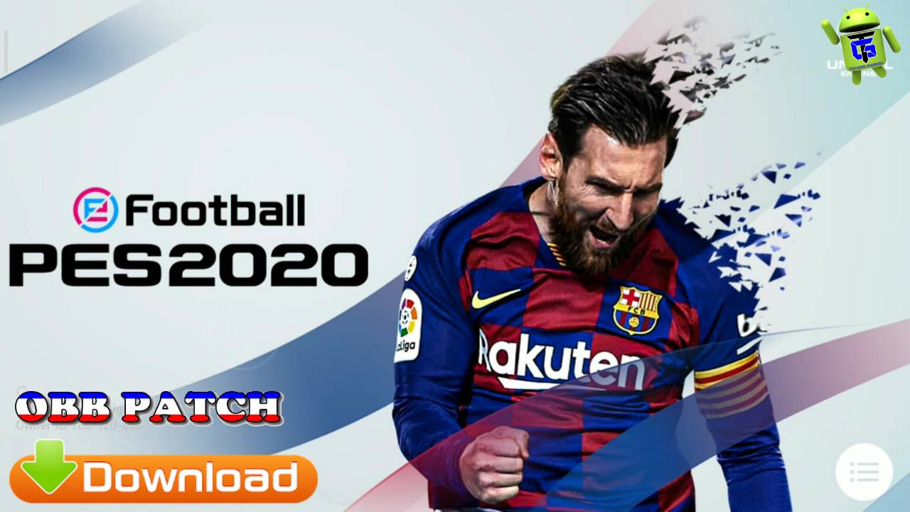 Download eFootball PES 2020 Patch APK+OBB