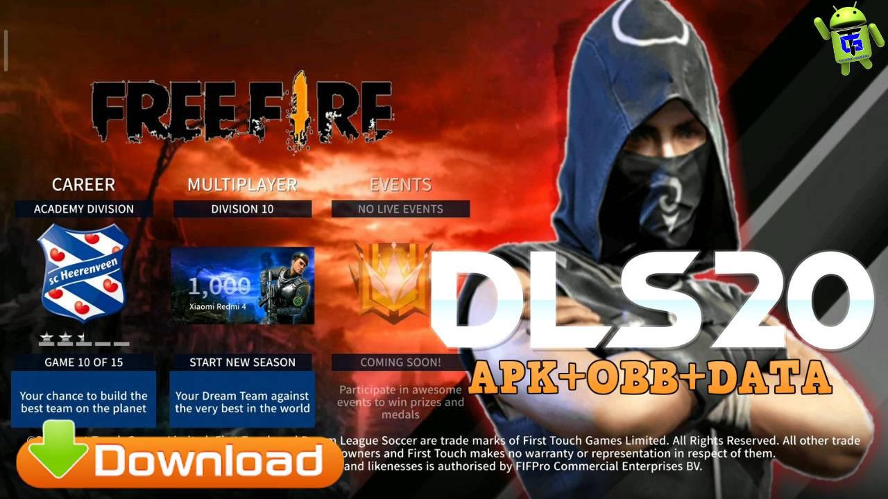 Download DLS 20 Mod APK Free Fire Skins