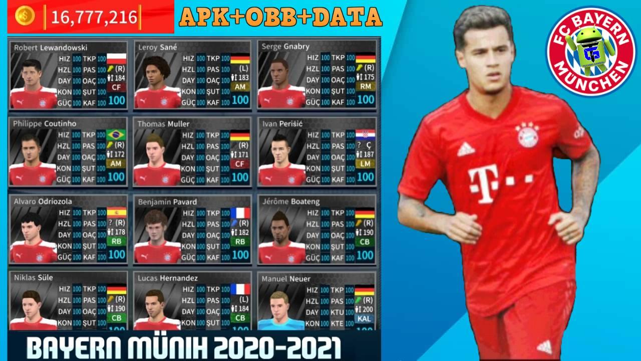 Download DLS 21 Mod Bayern Munich 2021