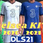 DLS Chelsea New Kits 2021 Dream League Soccer