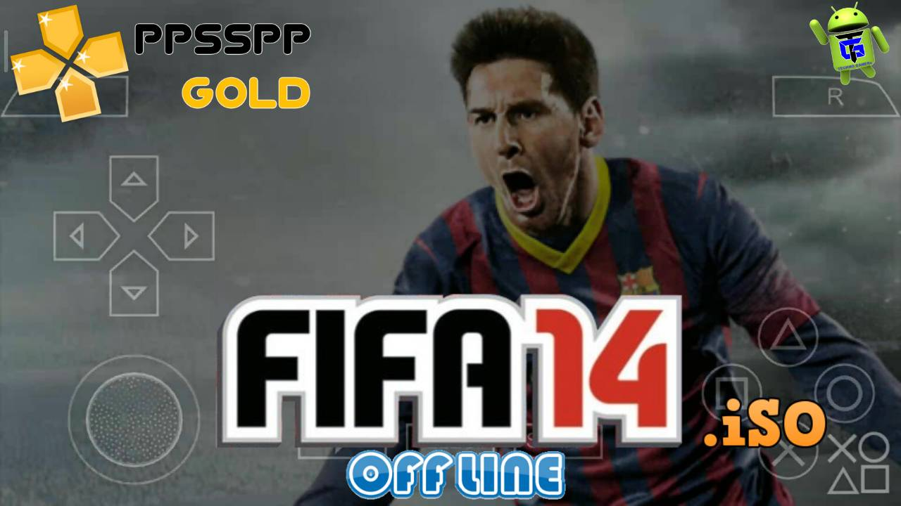 Download FIFA 14 PPSSPP iSO for Android