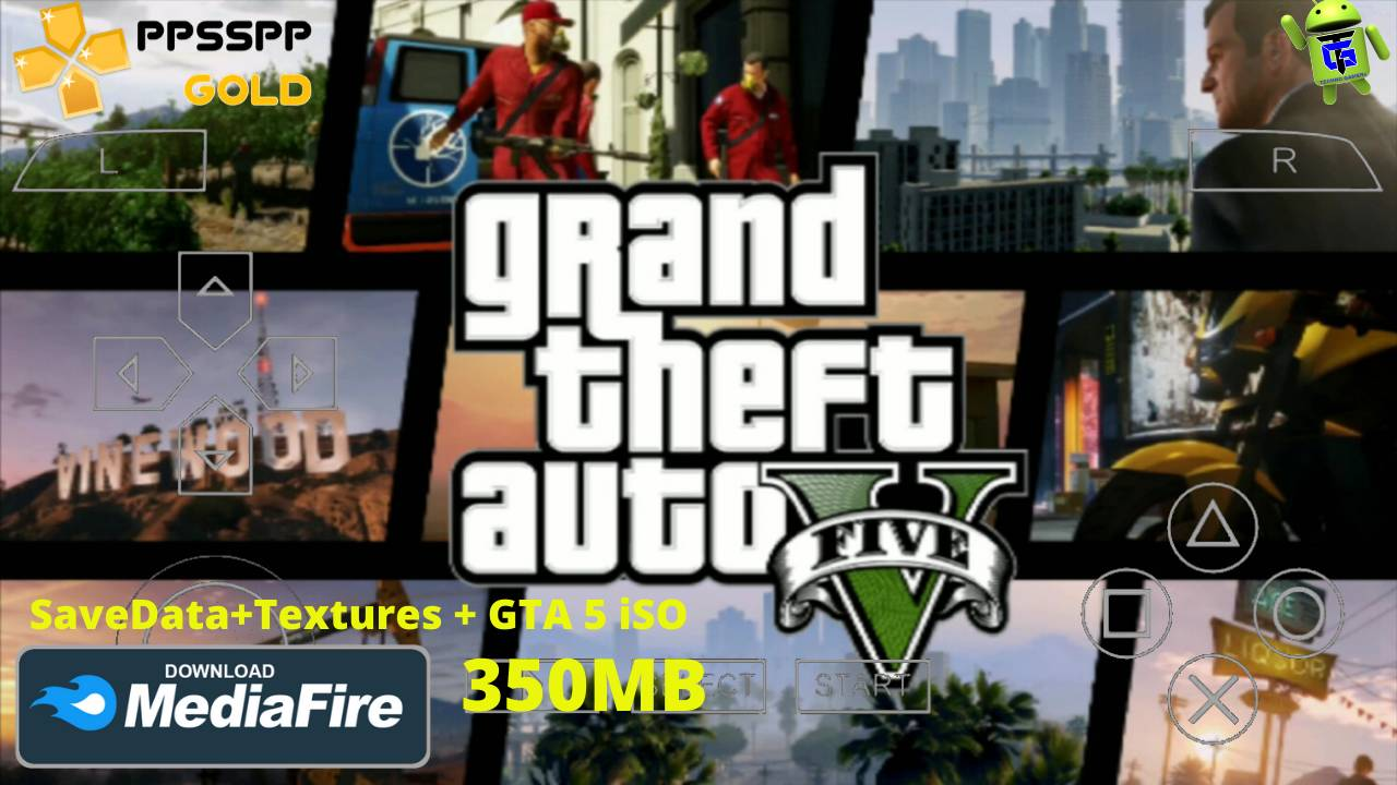 Download GTA 5 PPSSPP iSO Mod Android