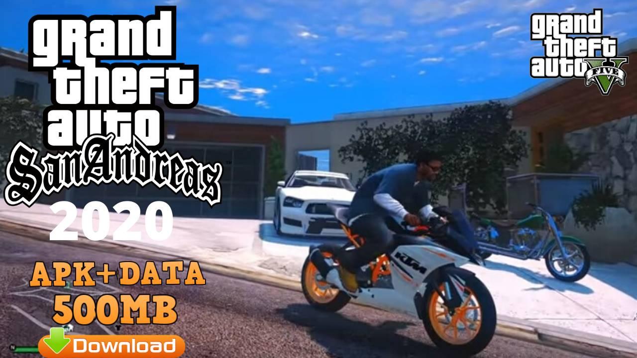 Download GTA SA Ultra ENB Graphics Mod Apk Data Game