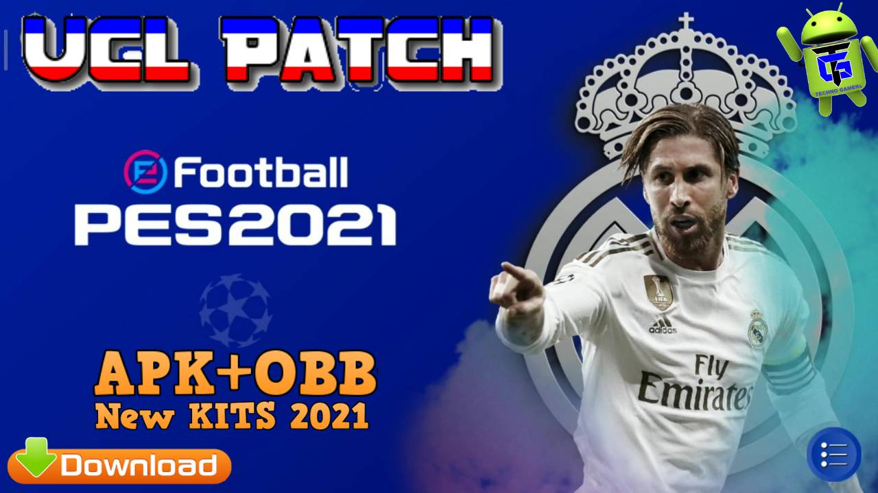 Download PES 2021 UCL Patch Android Download