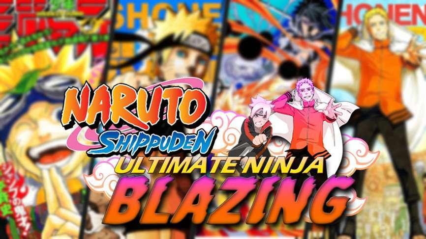 Download Naruto Ultimate Ninja Blazing MOD APK Unlimited Chakra