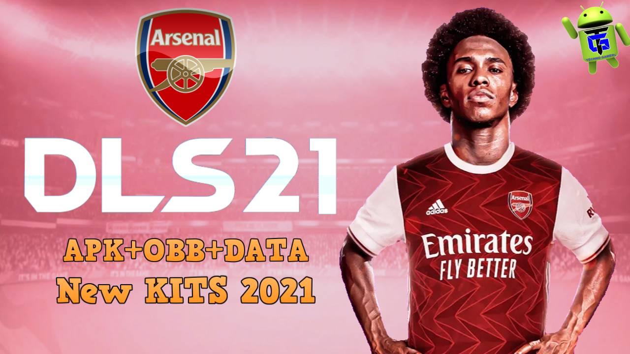 Download DLS 21 APK Mod Arsenal Kits 2021