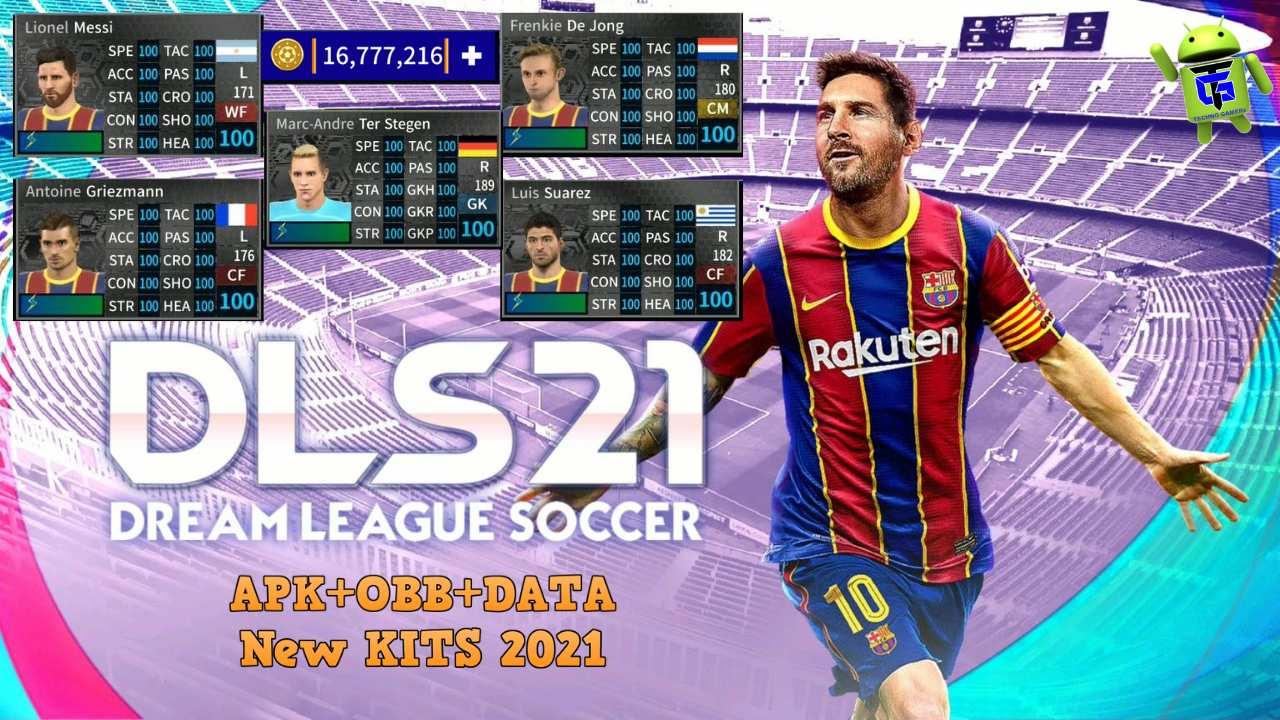 Download Dream League Soccer 2021 APK Mod Barcelona Team