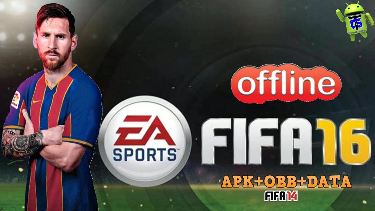 Download FIFA 16 Offline Mod APK OBB Data
