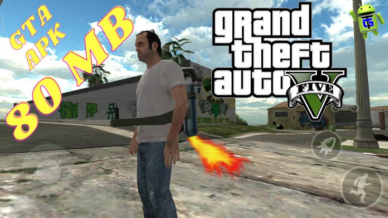 Download GTA 5 APK Lite Game 80MB