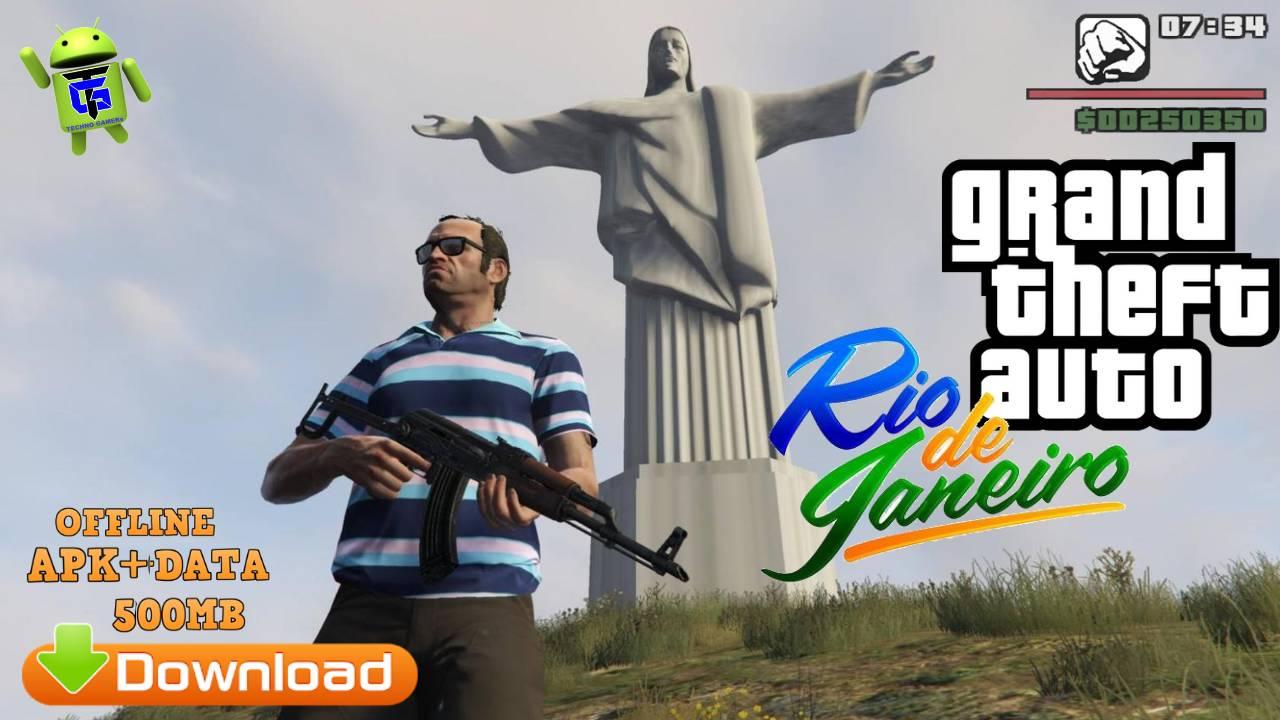Download GTA Rio De Janeiro Mod APK Data
