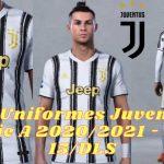 Seria A Juventus Kits 2021 DLS FTS