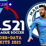 DLS 21 Mod APK Data Messi on Manchester City Download