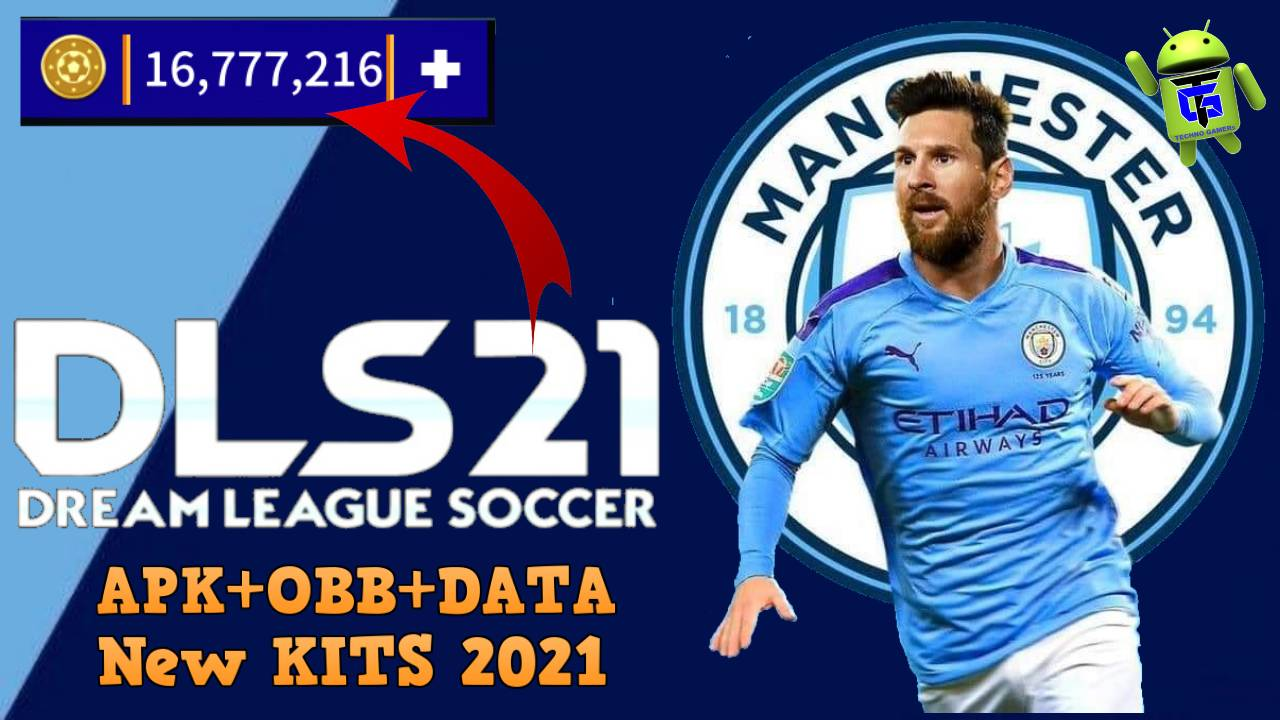 DLS 21 Mod APK Data Messi on Manchester City Download