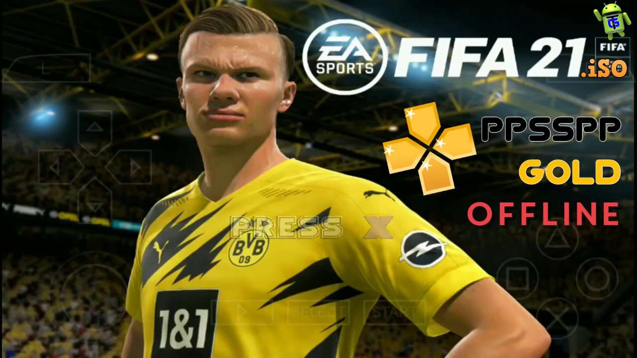 FIFA 21 Offline Android PPSSPP HD Graphics Download